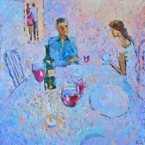 Painting by Grigory Kuznetsov