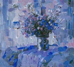 Russian artist Elena Prudnikova