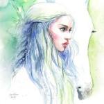 ValrArt watercolor portraits