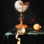 Maerten Boelema de Stomme Still Life with a Nautilus Cup