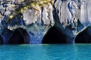 Tourist destination – Marble Cave landscape painted by nature