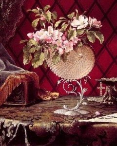 Painting by Martin Johnson Heade