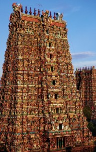 Huge Hindu Temple in India