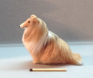 Collie Miniature toy
