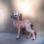 Deer Miniature handmade toy by Victoria Chernysheva