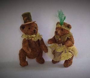 Married couple of bears. Victoria Chernysheva miniature toys