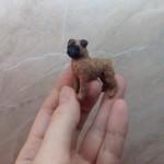Button miniature art