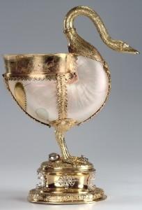 Swan. Nautilus cup
