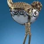 Ostrich. Exquisite Nautilus jewelry art masterpieces