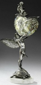 Angels. Exquisite Nautilus jewelry art masterpieces