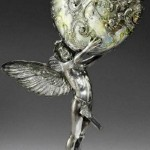 Angels. Exquisite Nautilus jewelry art masterpieces