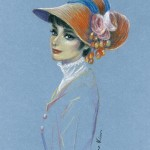Pastel drawings by Mikhail Vedernikov