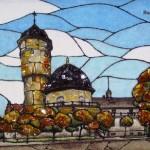 Rauschen, amber mosaics