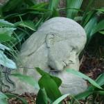 Atlanta Botanical Garden green sculpture