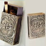 Matchbox holder Art