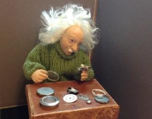 Watchmaker Miniature sculpture