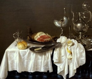 Willem Claesz Heda Still Life with Nautilus Cup