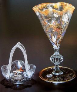 Art Nouveau style vases