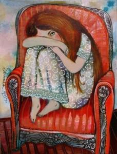 artist Anna Silivonchik