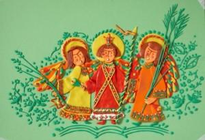 Plasticine painting by Tatiana Barinova