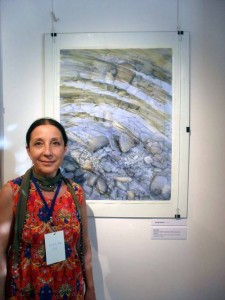 Turkish watercolorist Rukiye Garip, exhibition in Slovenia