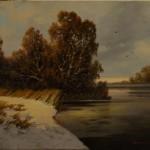 Snow Windows by Tom Baker