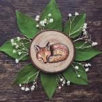 Prayer Nut wood carving art