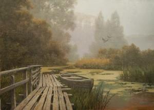 Russian artist Dmitry Kolpashnikov