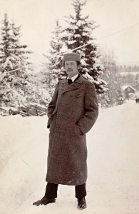 A photograph of Munch, by Anne-Sophie Ofrim