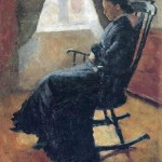 Aunt Karen in a rocking chair 1883
