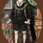 Christopher Hatton c. 1589. Nicholas Hilliard portrait miniature