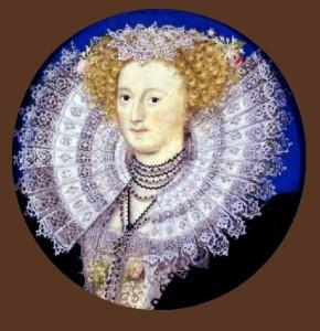 Mary Sidney, Countess of Pembroke c. 1590. Nicholas Hilliard portrait miniature