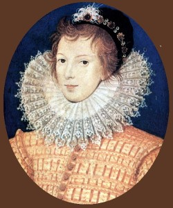 Unknown youth, 1585. Nicholas Hilliard portrait miniature