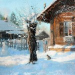 Vladimir Zhdanov Winter landscape