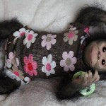Truly masterpiece – Chita Bindi baby monkey doll by Ekaterina Samgina