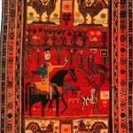 Ovchulug carpet, XIX c. Shirvan school, State Museum of Azerbaijan Carpet and Applied Art. Carpet Making ancient art