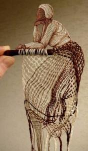 textile art by Agnes Herczeg