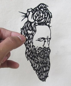 Intricate Papercut I Sadhu