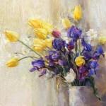 Still life painter Oleg Timoshin