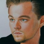 Leonardo DiCaprio. Pencil drawing