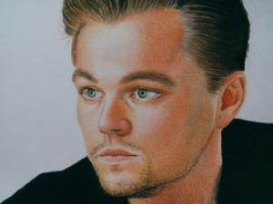 Leonardo DiCaprio. Pencil drawing