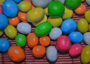 Candies. Pencil drawing