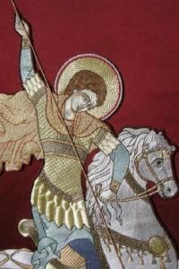 Saint George Khorugv, detail