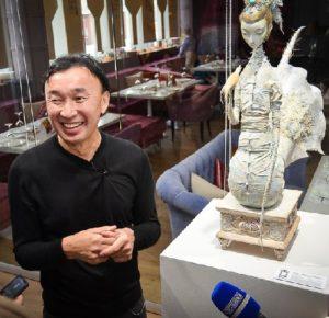 Famous Buryat artist Dashi Namdakov