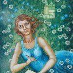 Glass artist Lyubov Savelieva
