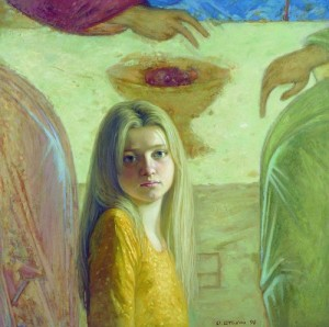 Painting by Oleg Shtyhno