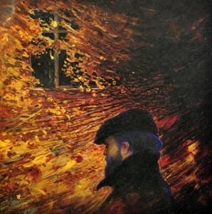 Russian artist Oleg Shtyhno