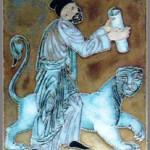 Cloisonne enamel by Mikhail Tsalkalamanidze