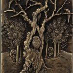 Evdokiya gold embroidery art
