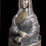 Pavel Zaitsev miniature bronze sculpture